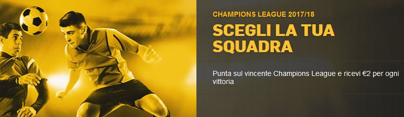 betfair champions league 2017 2018