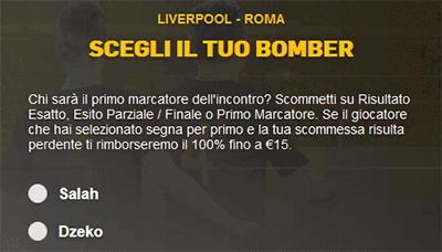 Betfair Champions League Liverpool Roma 24/04/2018