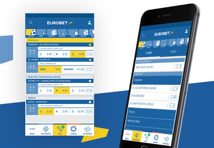 scommesse mobili Eurobet Serie A