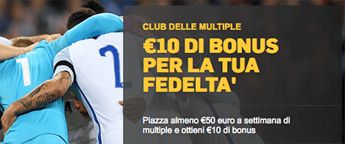 betfair club delle multiple 2018 promo