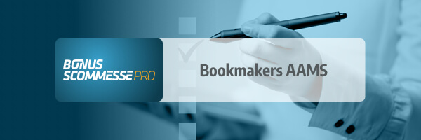 Bookmakers AAMS in Italia