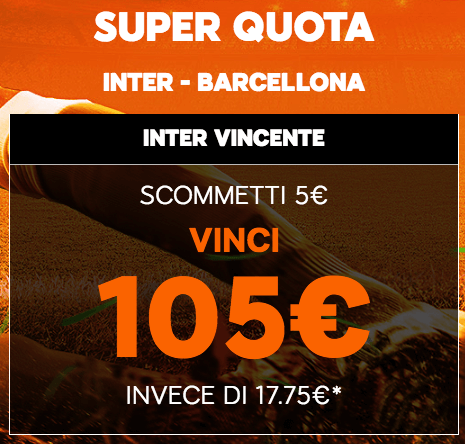Quota Inter Barcellona 888sport