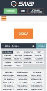 Mercati Serie A Snai